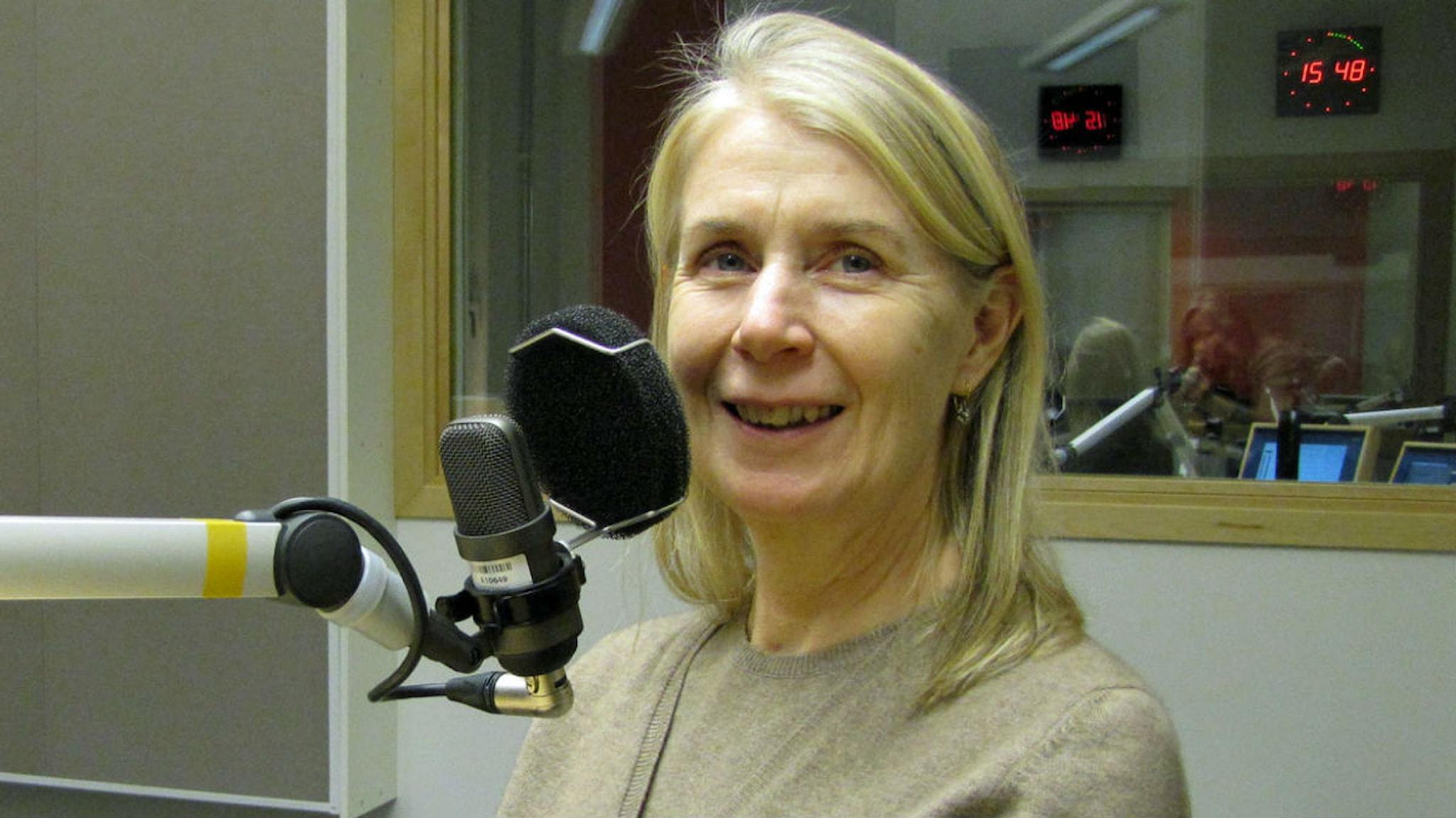 Cecilia Edefalk. Foto: Lotta Karlsson