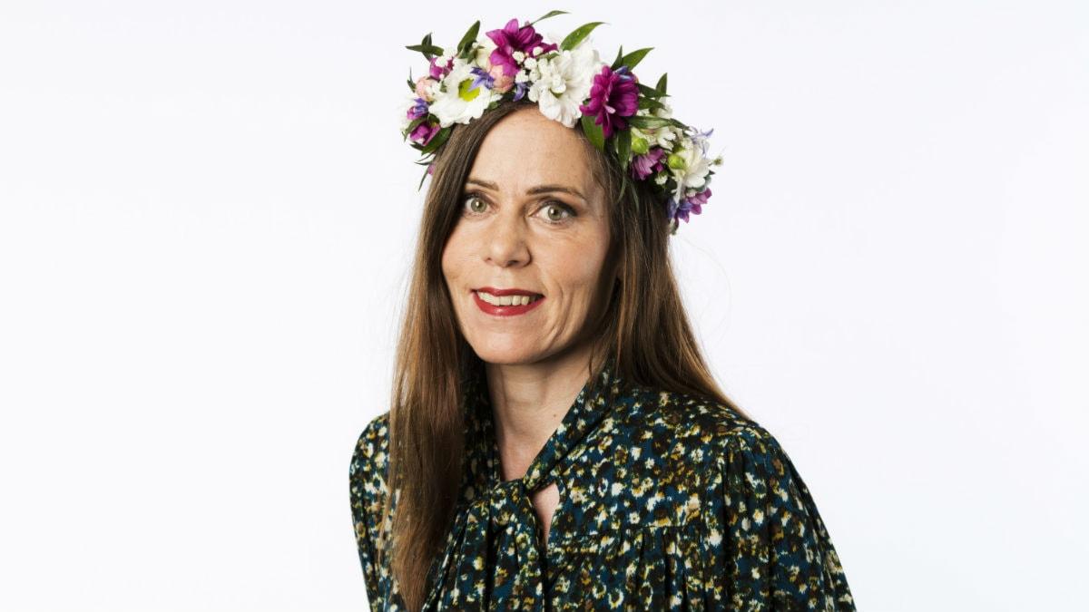 Sara Danius. Foto: Mattias Ahlm/Sveriges Radio