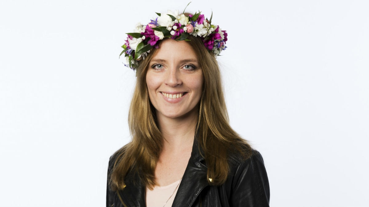 Johanna Frändén. Foto: Mattias Ahlm/Sveriges Radio