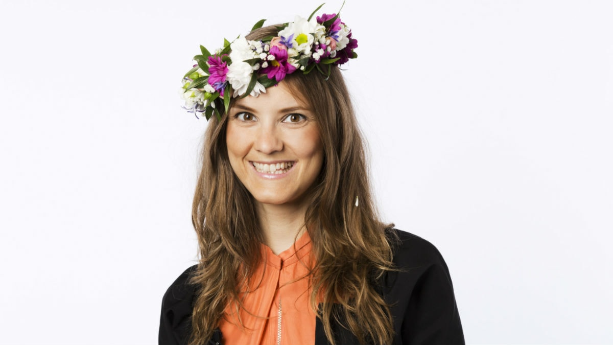 Katarina Gospic. Foto: Mattias Ahlm/Sveriges Radio