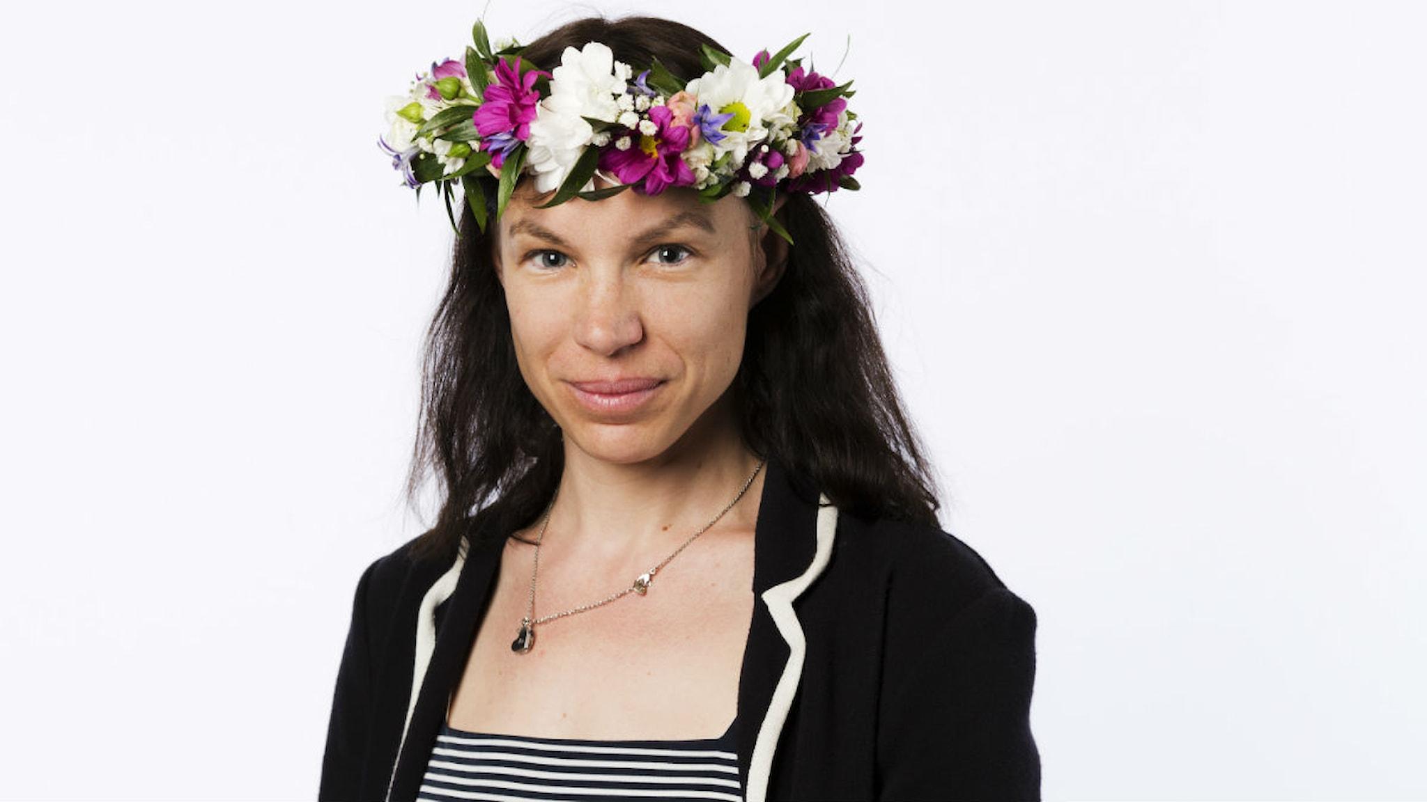Ellen Jelinek. Foto: Mattias Ahlm/Sveriges Radio