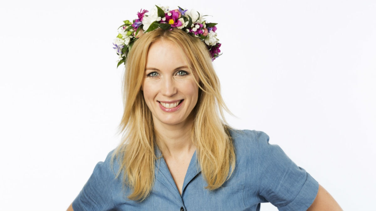 Jenny Strömstedt. Foto: Mattias Ahlm/Sveriges Radio