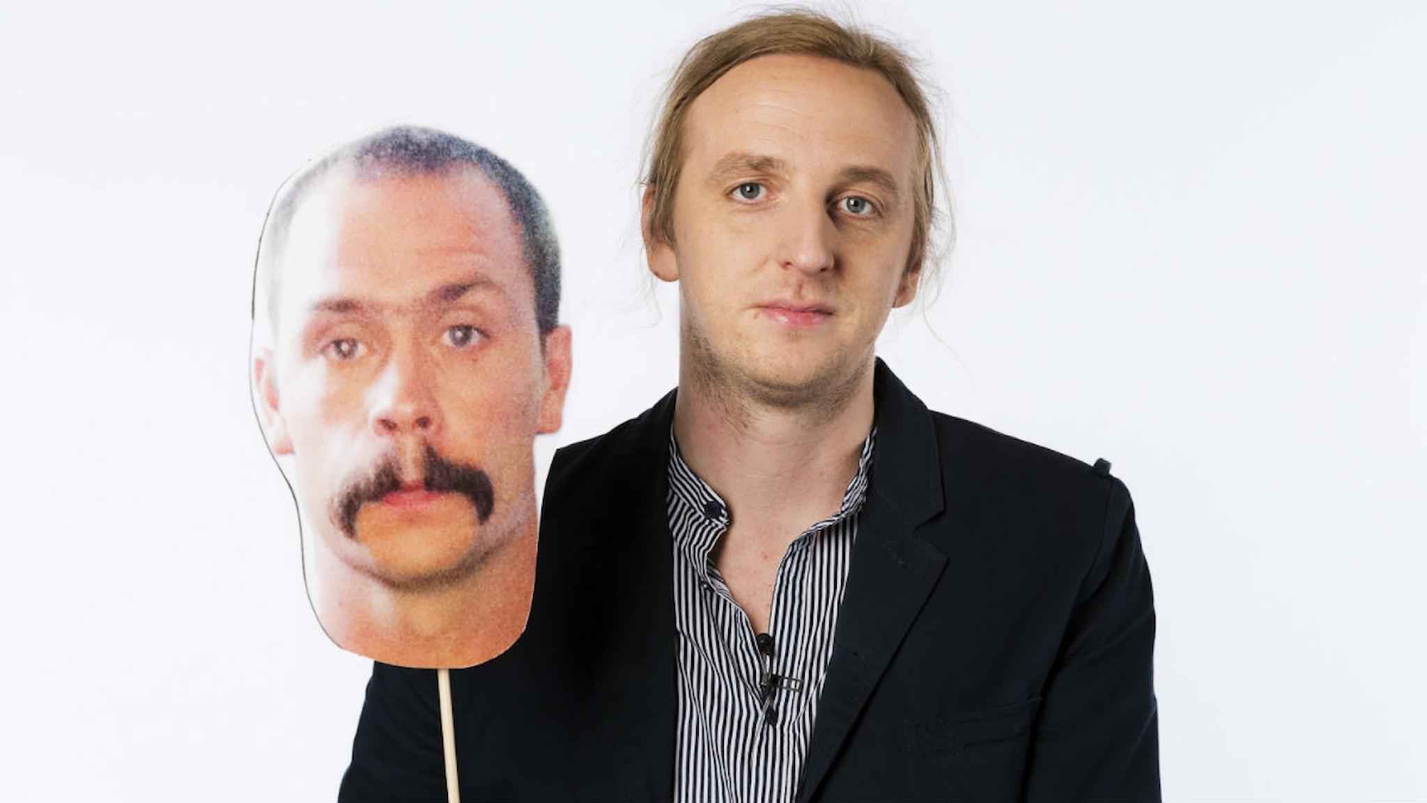 Martin Schibbye & Johan Persson. Foto: Mattias Ahlm/Sveriges Radio