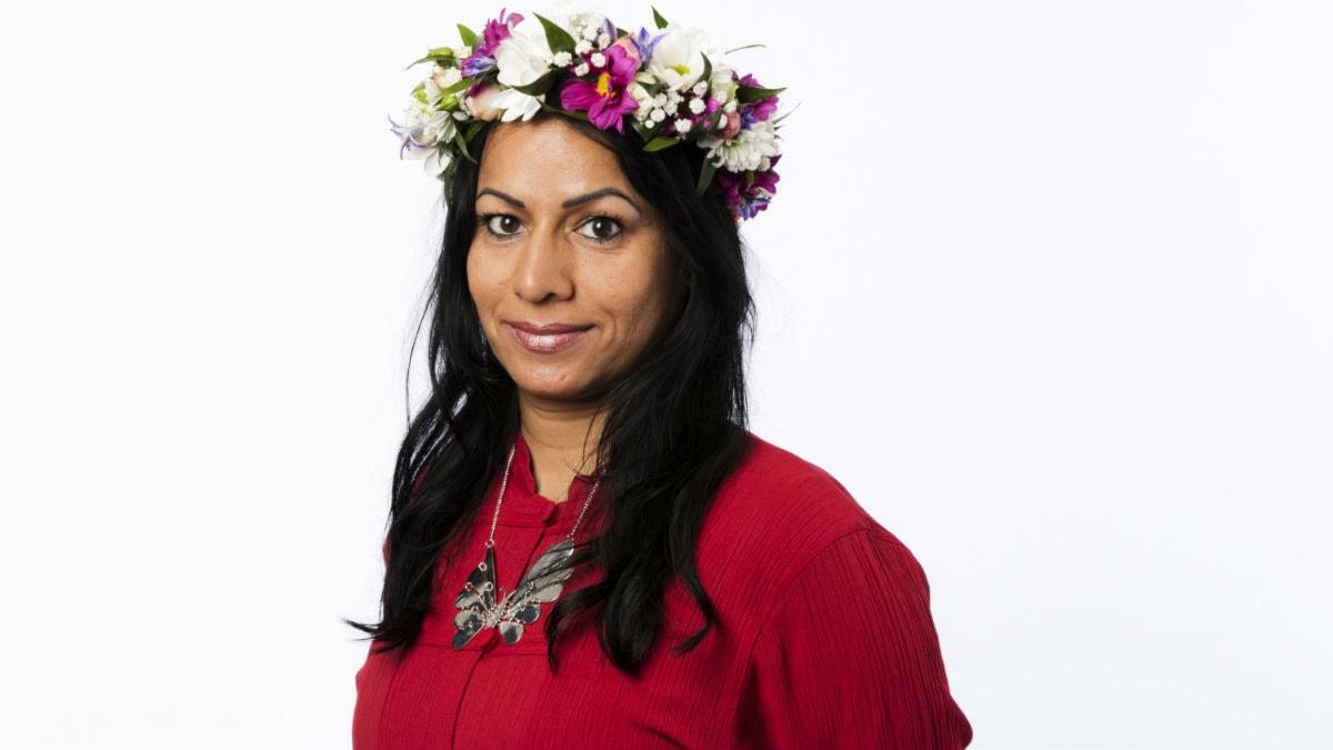 Sarita Skagnes. Foto: Mattias Ahlm/Sveriges Radio