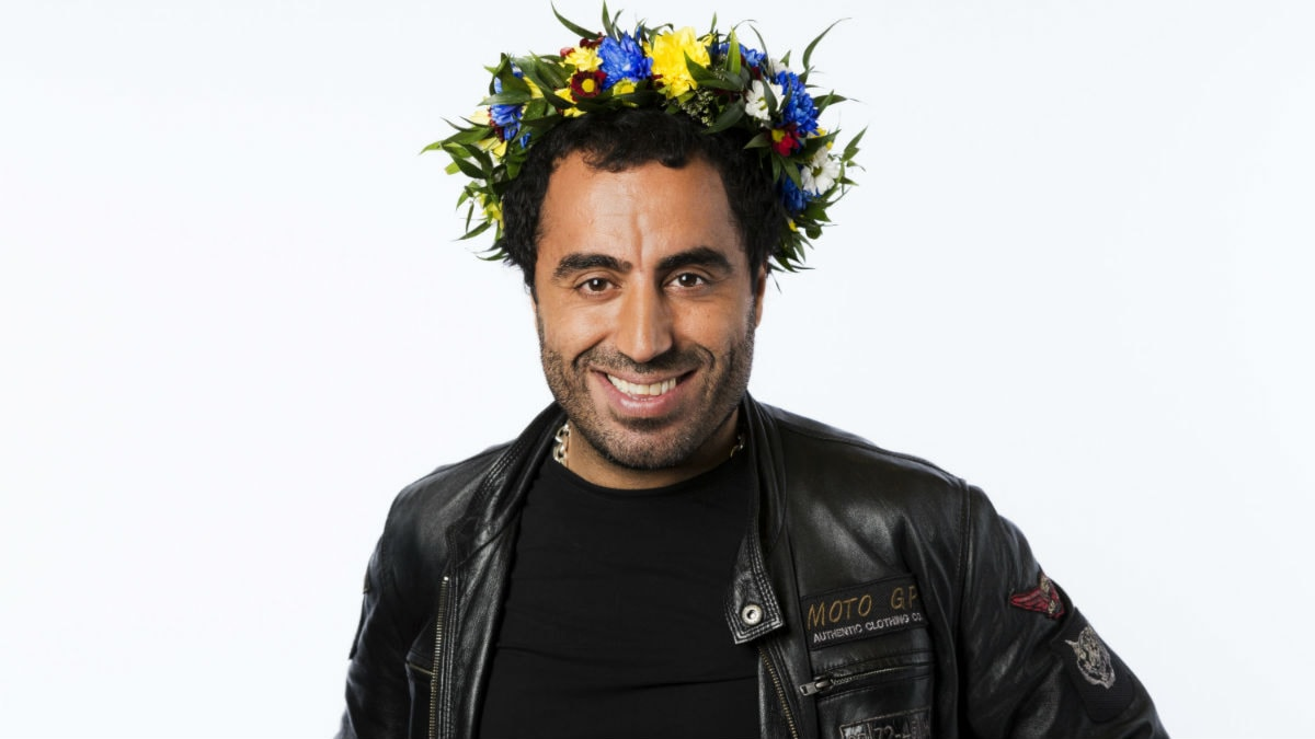 Özz Nûjen. Foto: Mattias Ahlm/Sveriges Radio