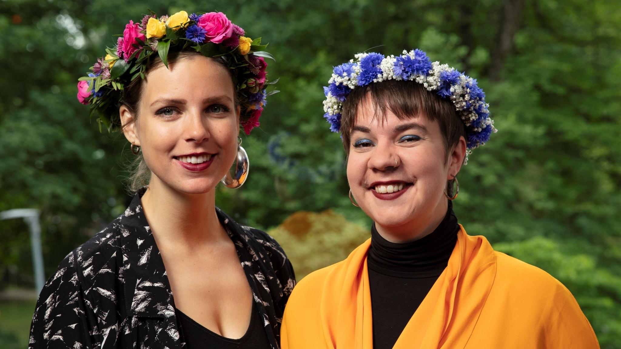 Sara Parkman och Samantha Ohlanders