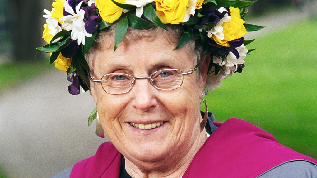 Elsie Johansson. Foto: Sveriges Radio