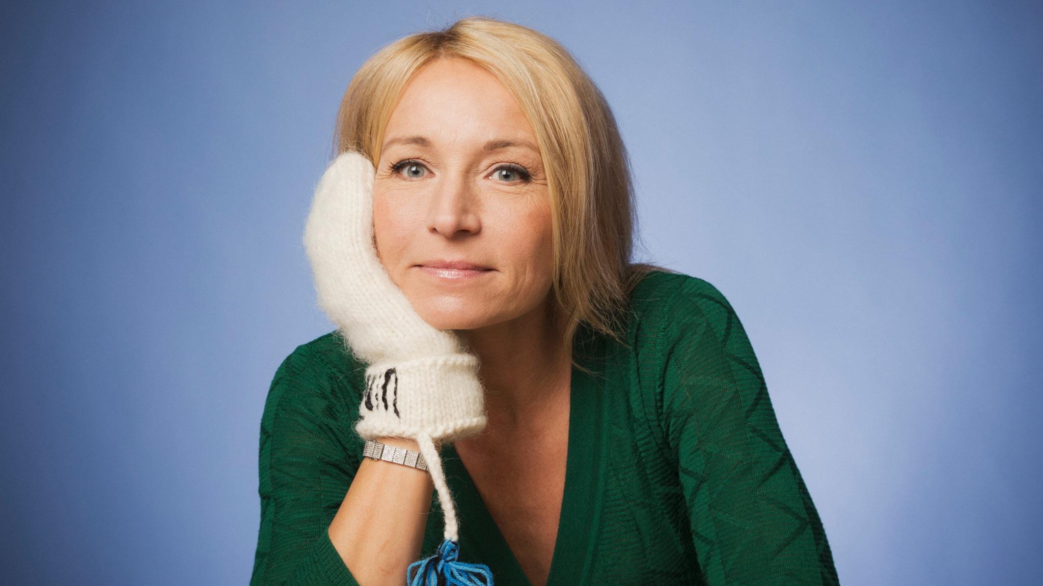 Martina Haag. Foto: Mattias Ahlm /Sveriges Radio
