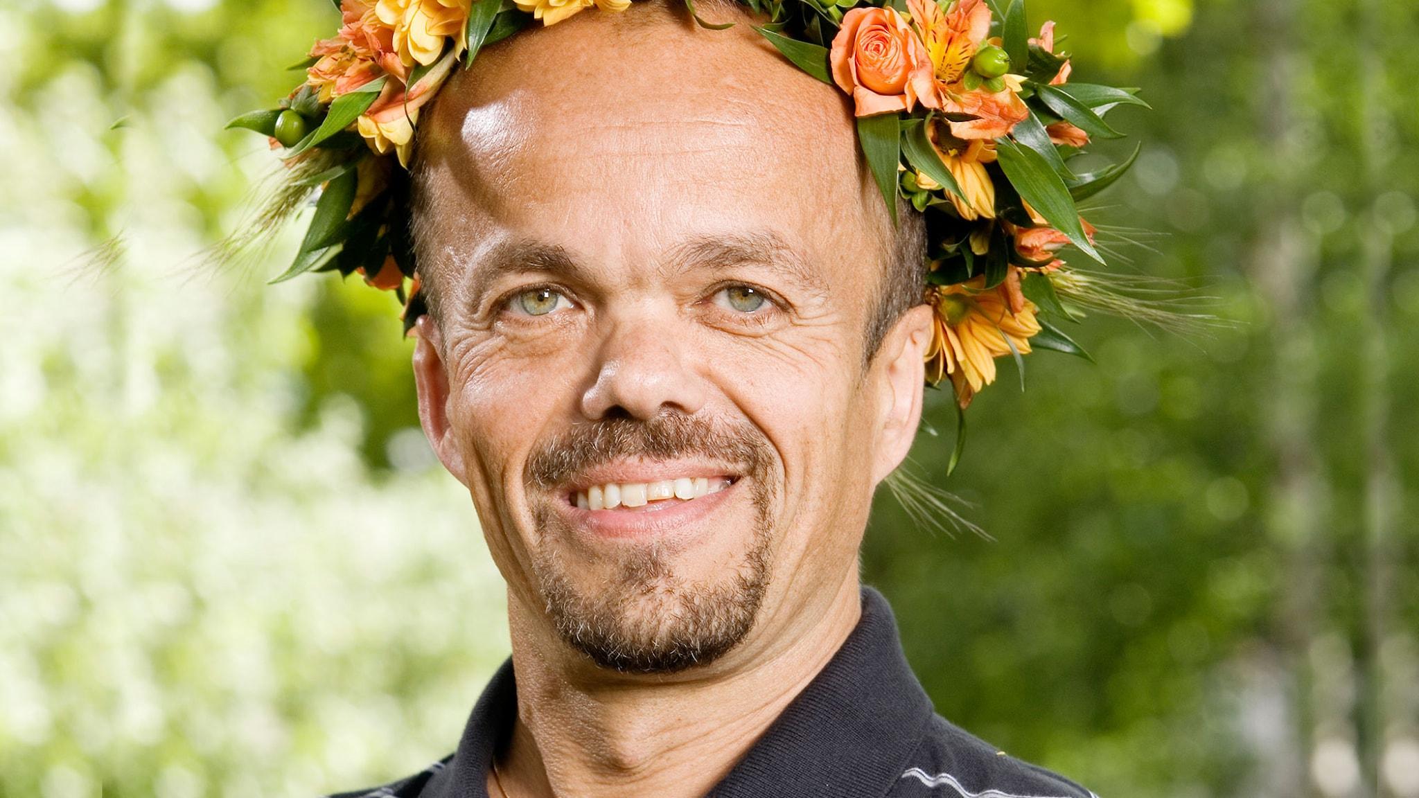 Peter Martinsson, lyssnarnas Sommarvärd 2007. Foto: Mattias Ahlm/ Sveriges Radio