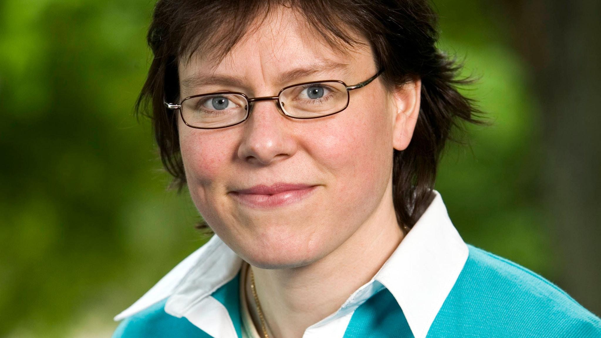 Lena Andersson 2005. Foto: Johan Ljungström /Sveriges Radio