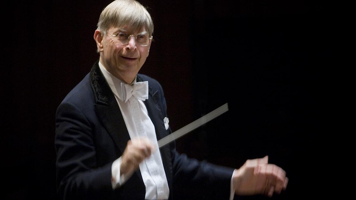 Konsert i Berwaldhallen Motiv: Radiokören Sveriges Radios Symfoniorkester Herbert Blomstedt, dirigent