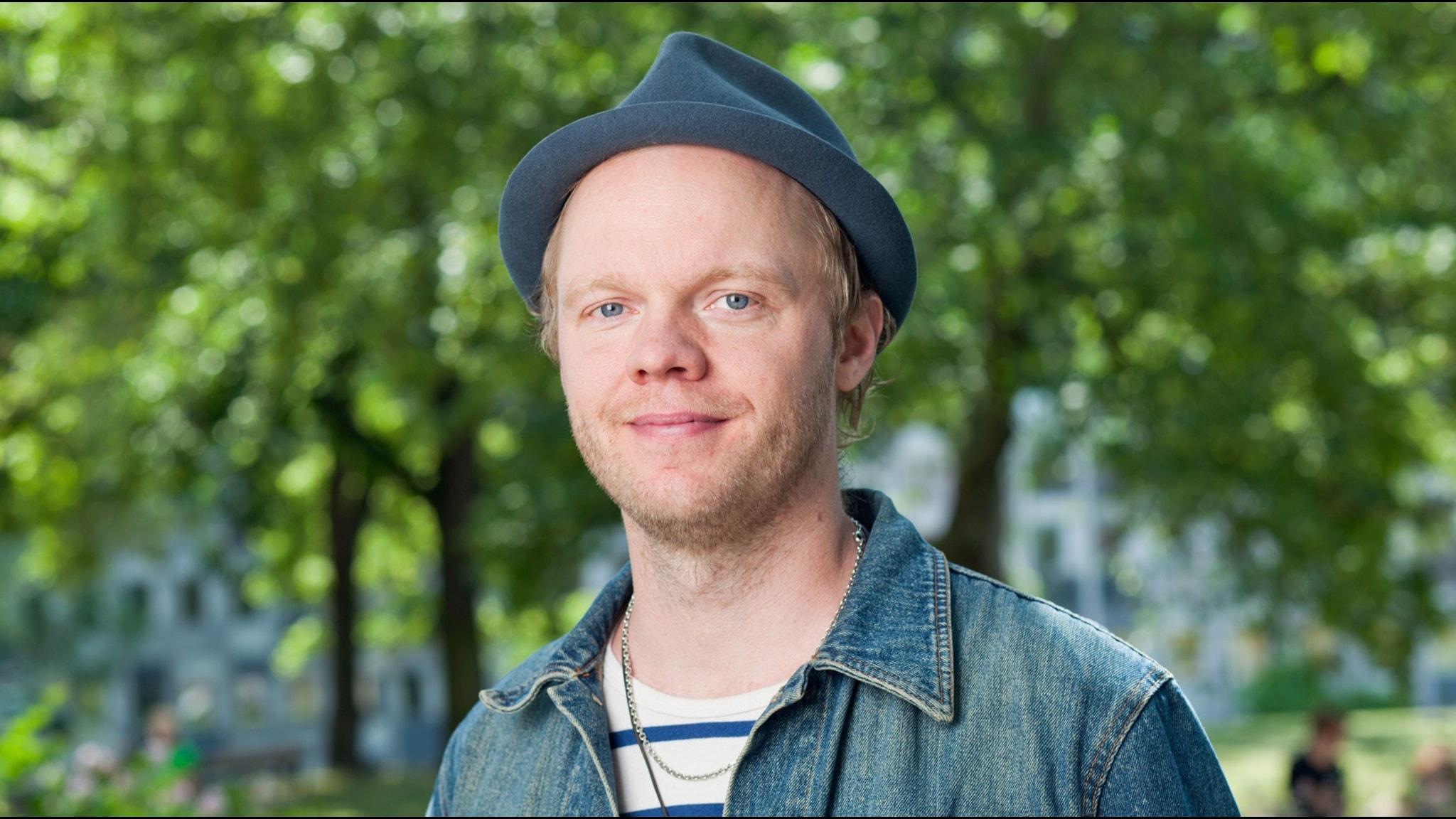 Olof Wretling. Foto: Mattias Ahlm/Sveriges Radio