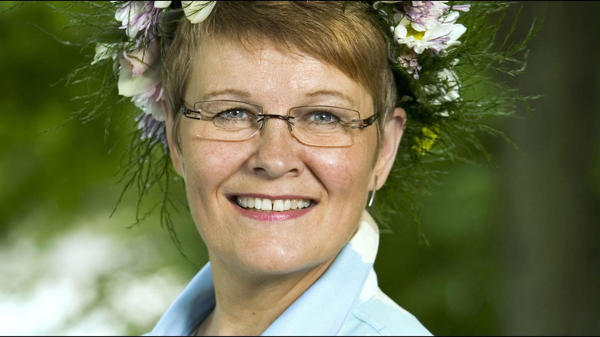 Maud Olofsson. Foto: Johan Ljungström/SR