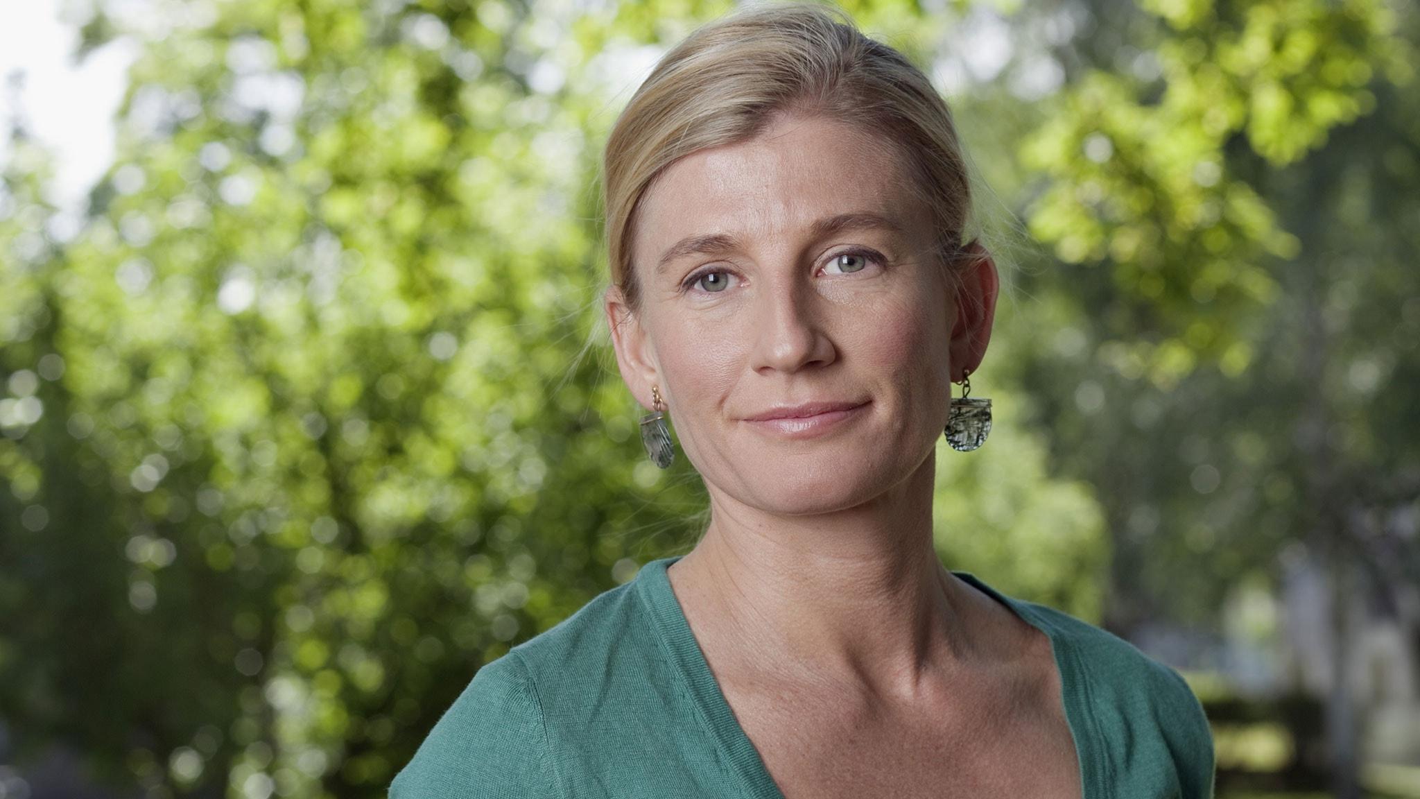 Natasha Illum Berg. Foto: Mattias Ahlm/Sveriges Radio