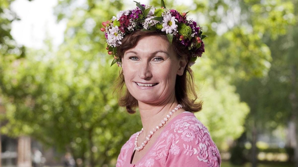 Viveca Sten. Foto: Mattias Ahlm/Sveriges Radio.