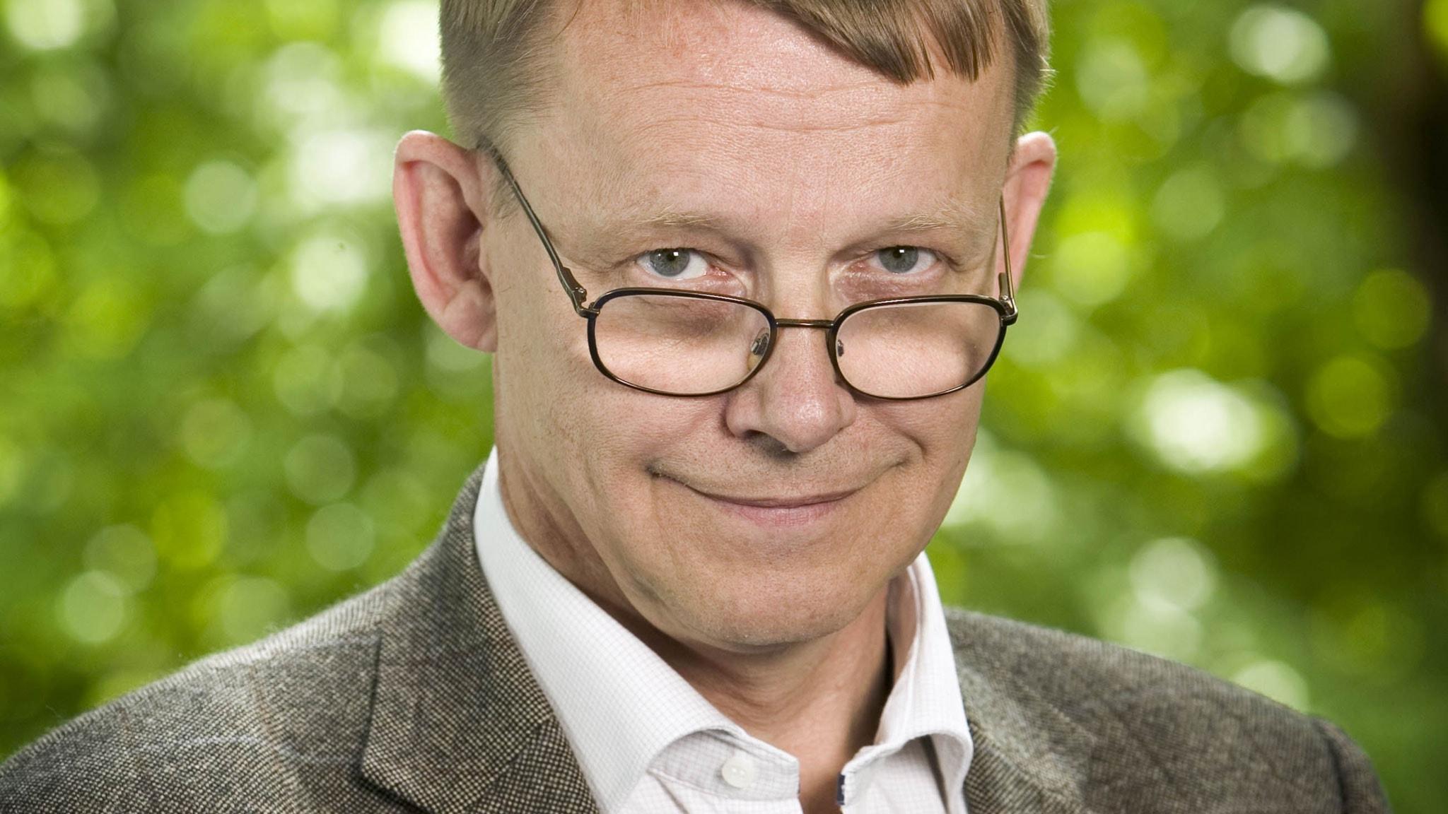 Hans Rosling. Foto: Johan Ljungström/SR