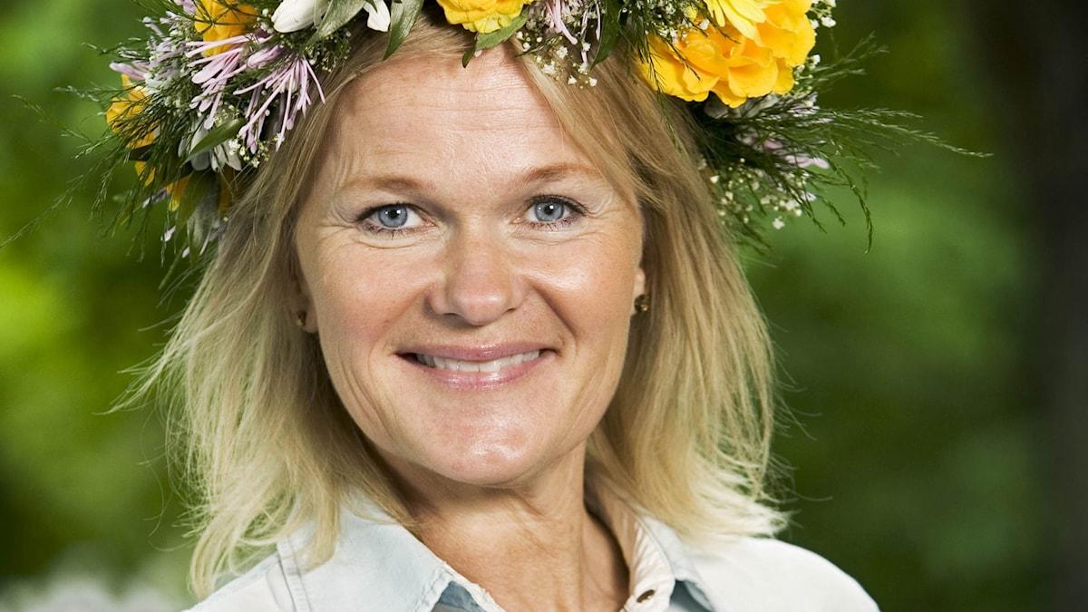Sissela Kyle. Foto: Johan Ljungström/SR