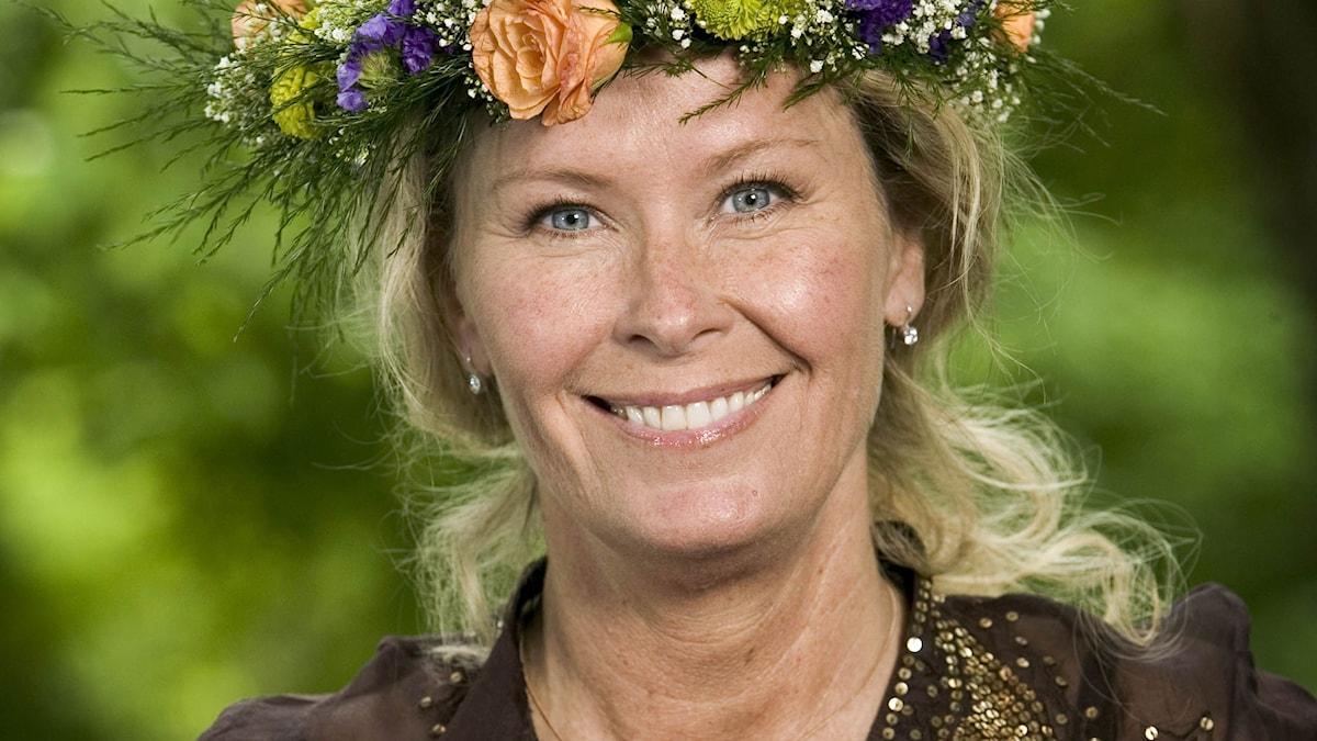 Efva Attling. Foto: Johan Ljungström/SR