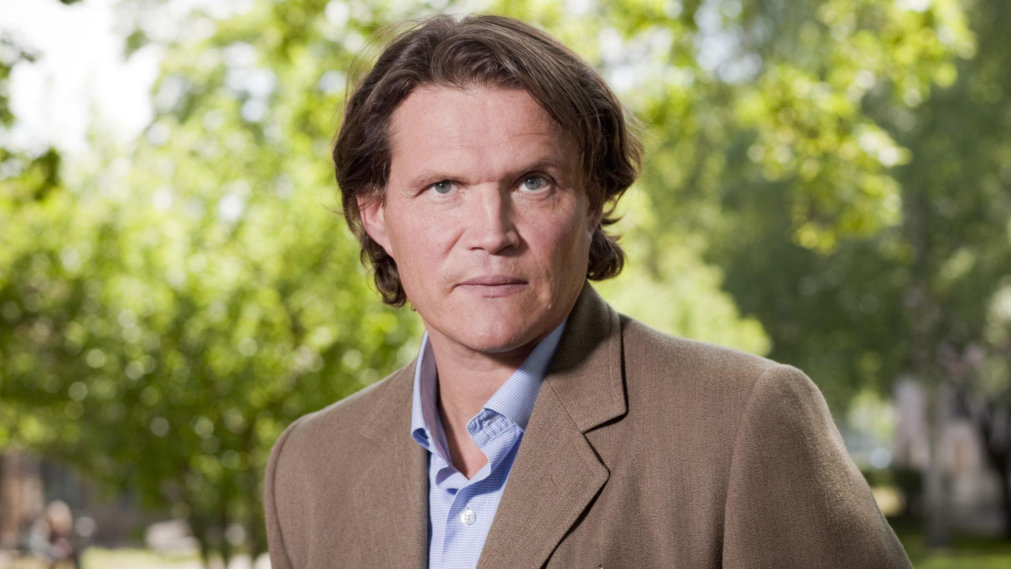 Per Morberg. Foto: Mattias Ahlm/Sveriges Radio.