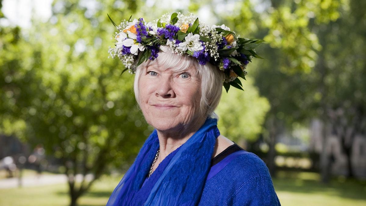 Birgitta Stenberg. Foto: Mattias Ahlm/Sveriges Radio.
