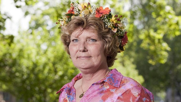 Annika Östberg. Foto: Mattias Ahlm/Sveriges Radio