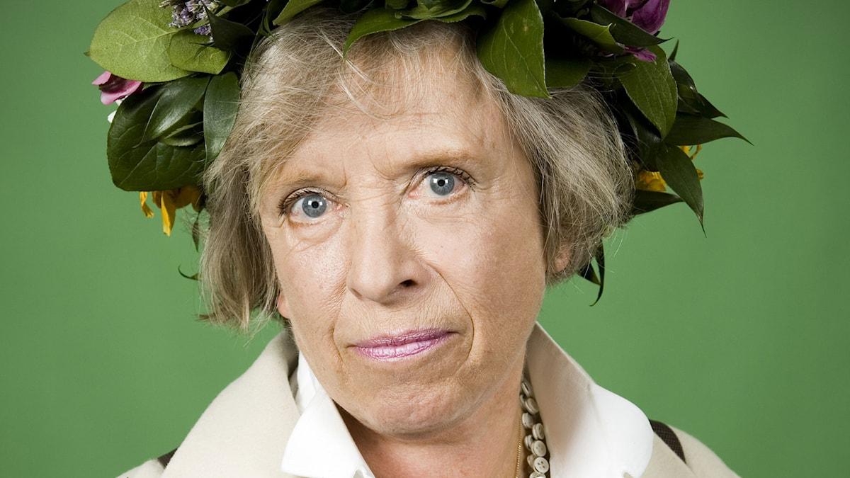 Nina Yunkers. Foto: Johan Ljungström/SR