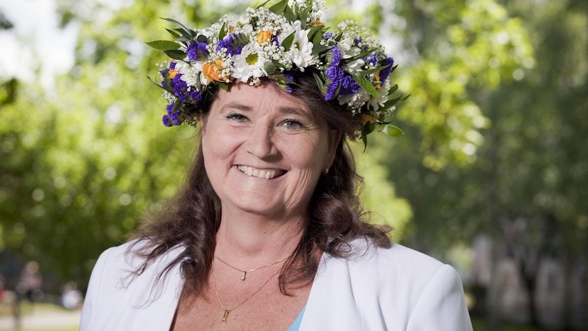 Lena Olving. Foto: Mattias Ahlm/Sveriges Radio.