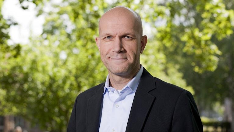 Henrik Hjelt. Foto: Mattias Ahlm/Sveriges Radio.