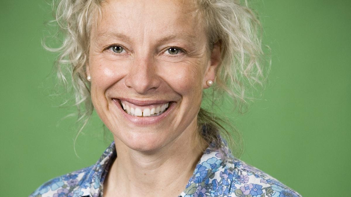Pernilla Stalfelt. Foto: Johan Ljungström/SR