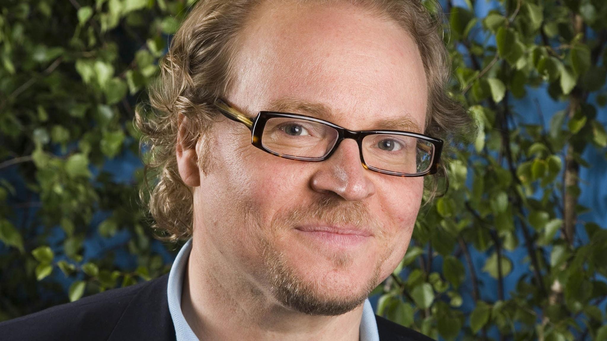 Fredrik Lindström. Foto: Mattias Ahlm/SR.