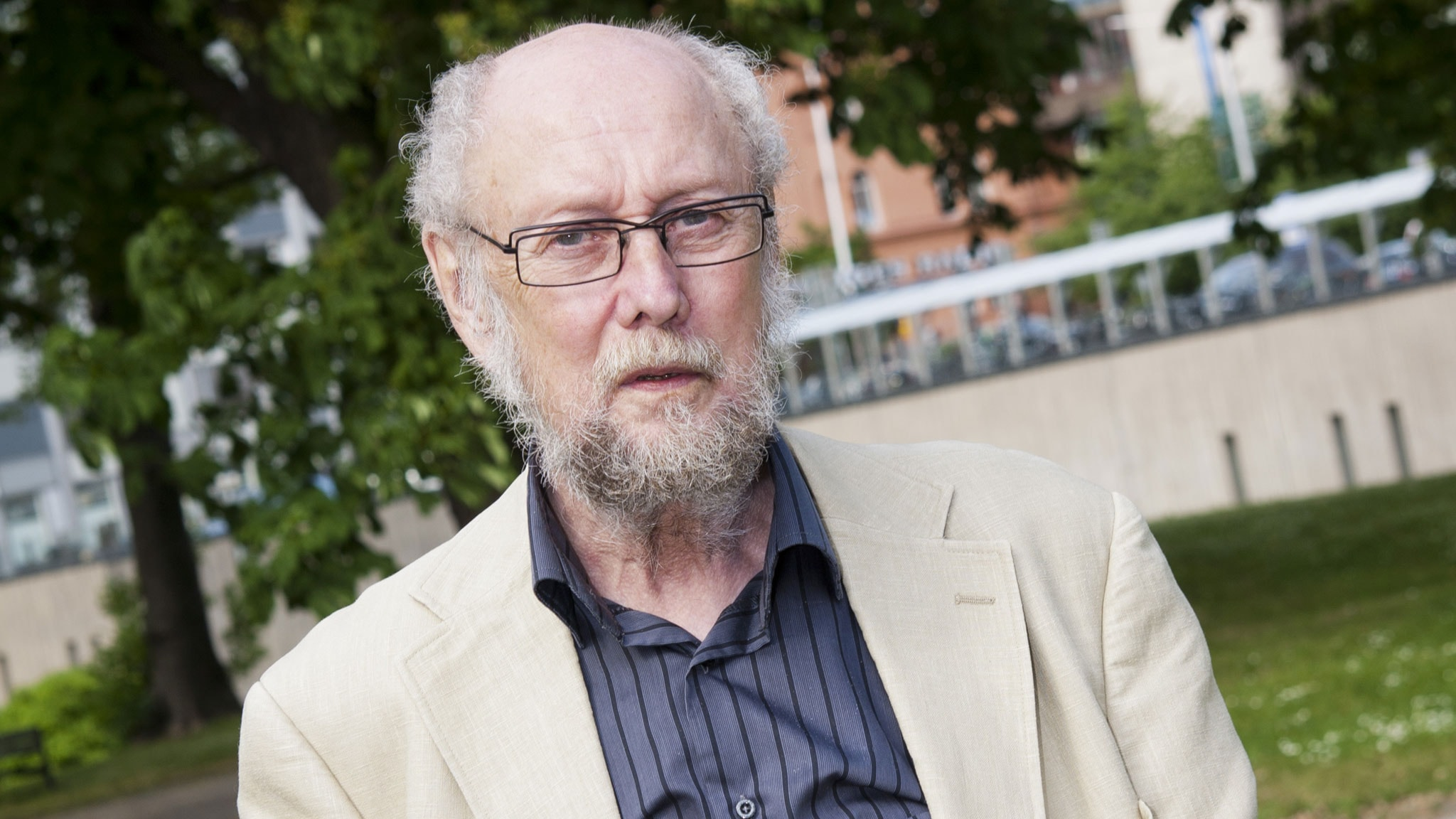Torgny Lindgren. Foto: SR Foto.