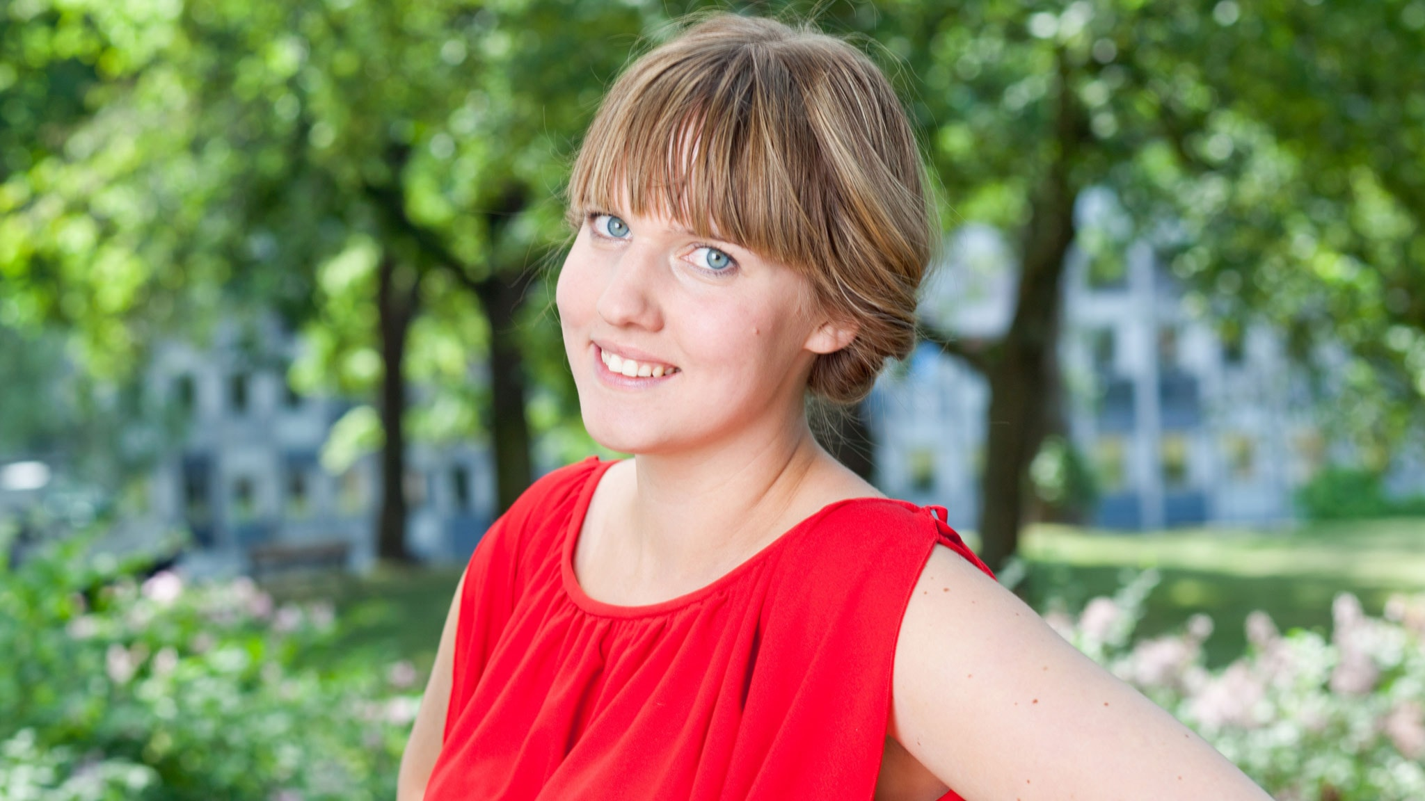 Clara Lindström. Foto: SR Foto.
