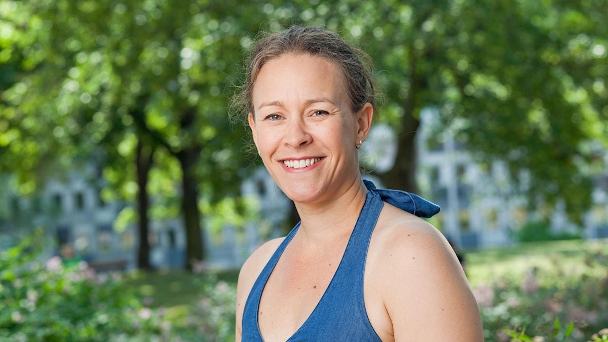 Maria Wetterstrand. Foto: SR Foto.