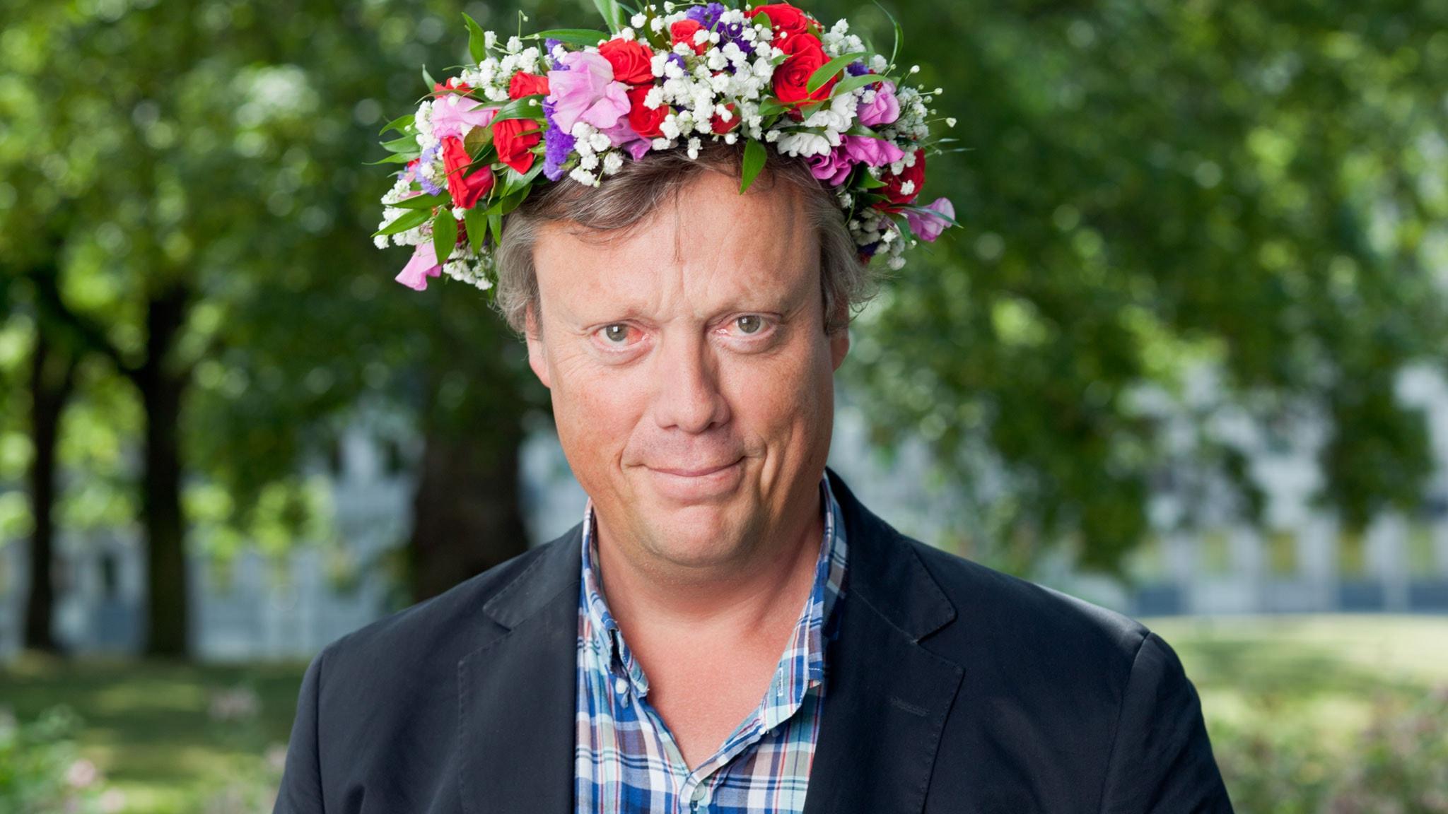 Jonas Jonasson. Foto: SR Foto.