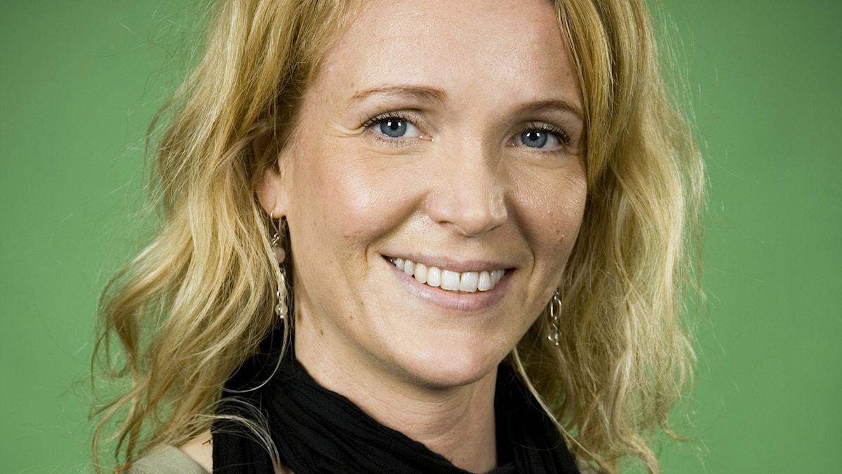 Kattis Ahlström. Foto: Johan Ljungström/SR