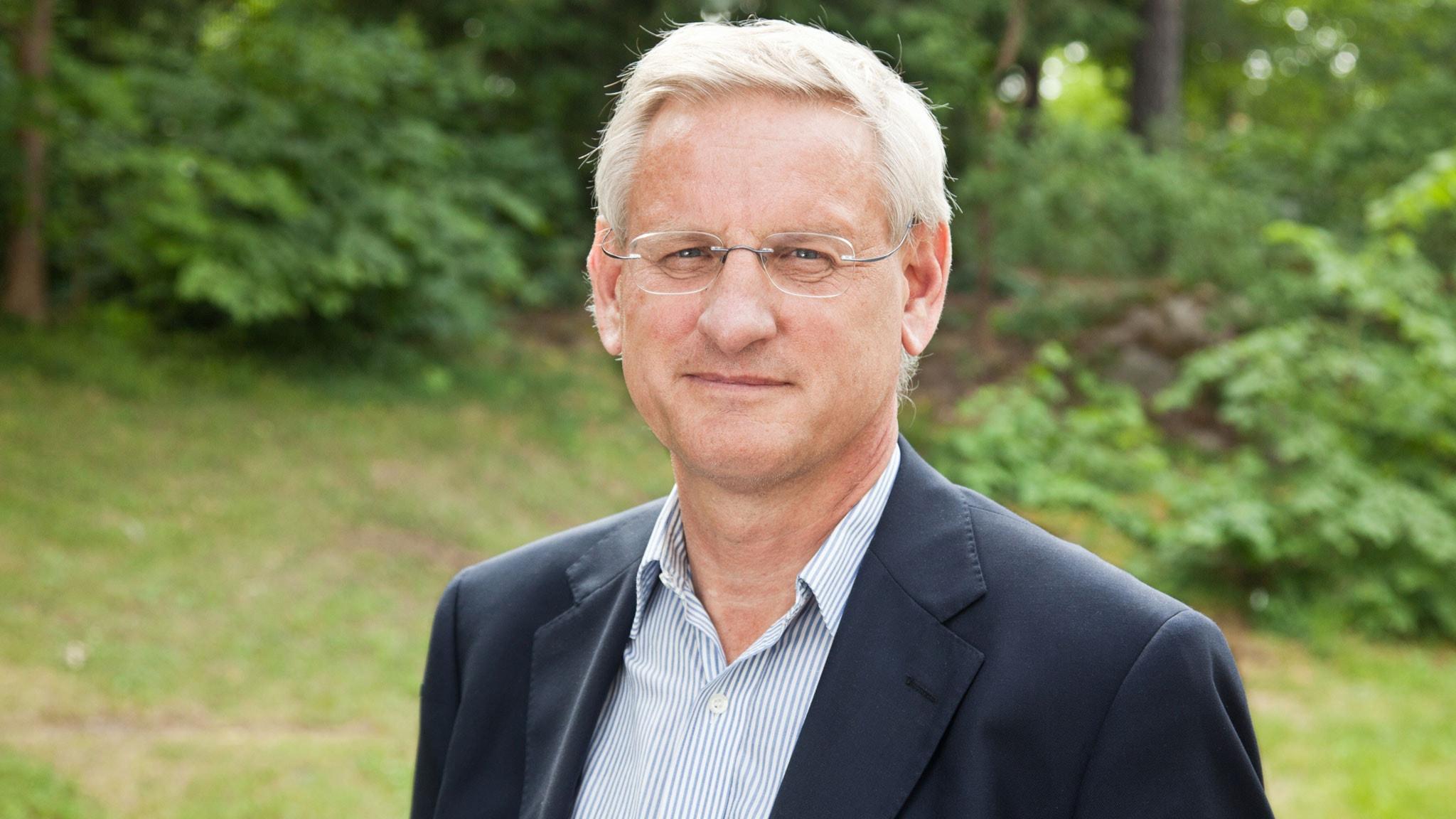 Carl Bildt. Foto: SVT Bild