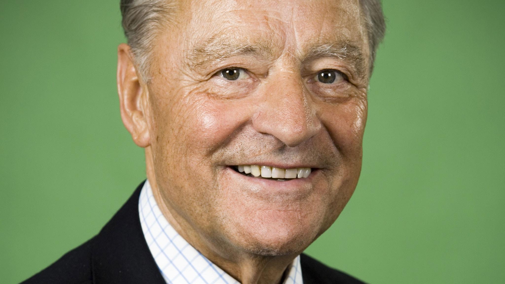 Werner Vögeli. Foto: Johan Ljungström/SR