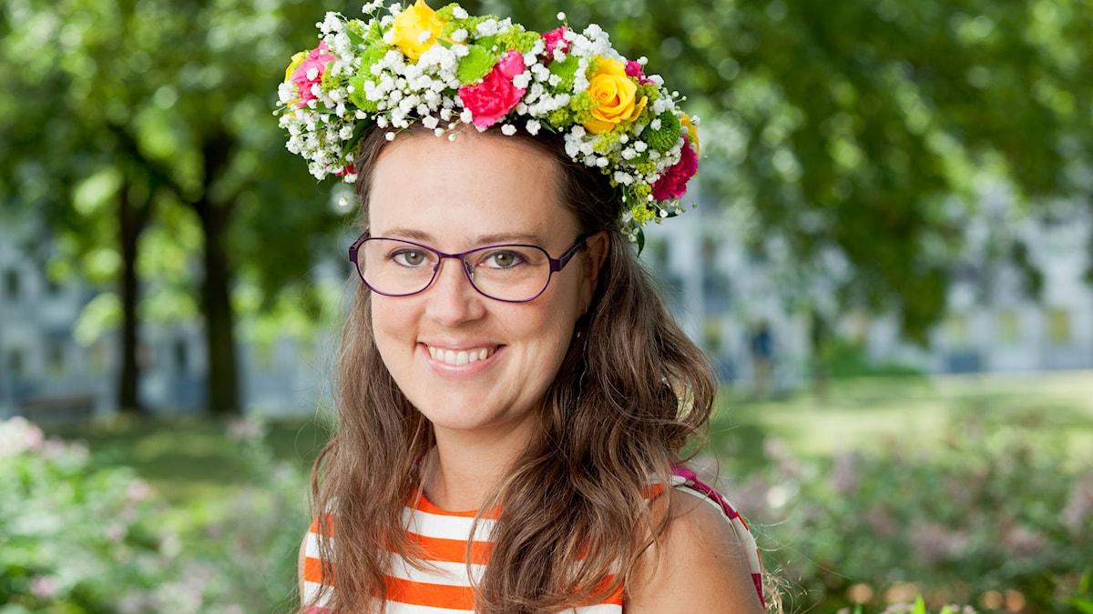 Monika Nyström. Foto: SR Foto.