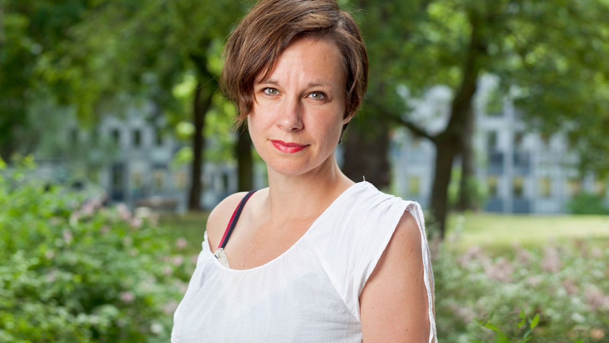Sara Stridsberg. Foto: SR Foto.