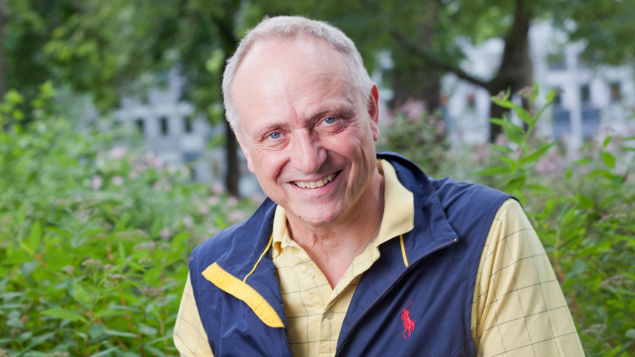 Claes Hultling. Foto: SR Foto.