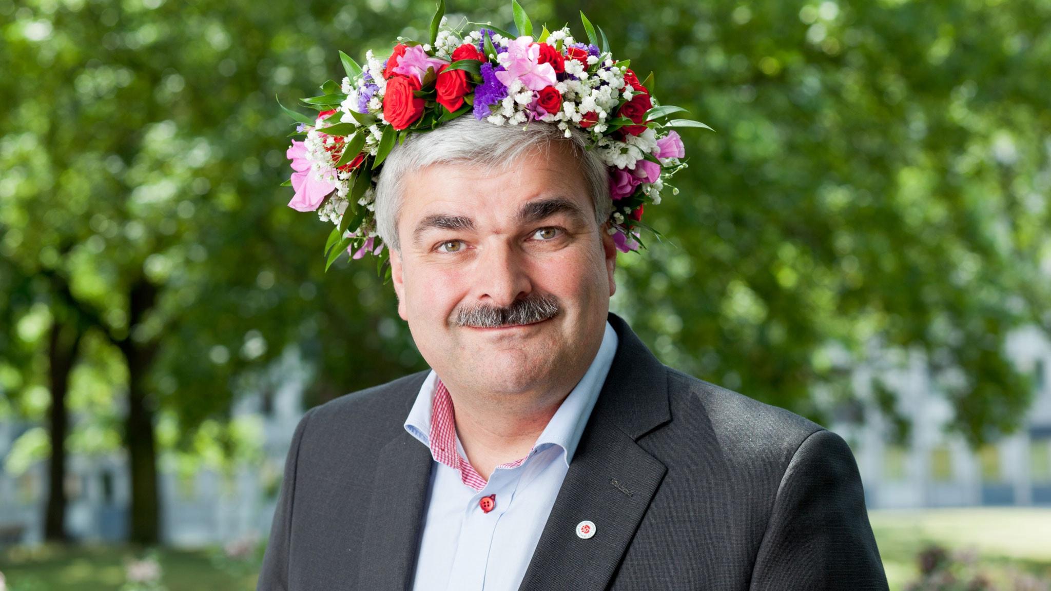 Håkan Juholt. Foto: SR Foto.