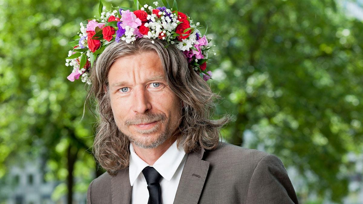 Karl Ove Knausgård. Foto: SR Foto.