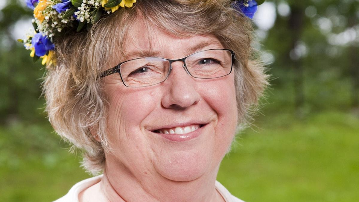 Linda Olsson. Foto: Mattias Ahlm/SR