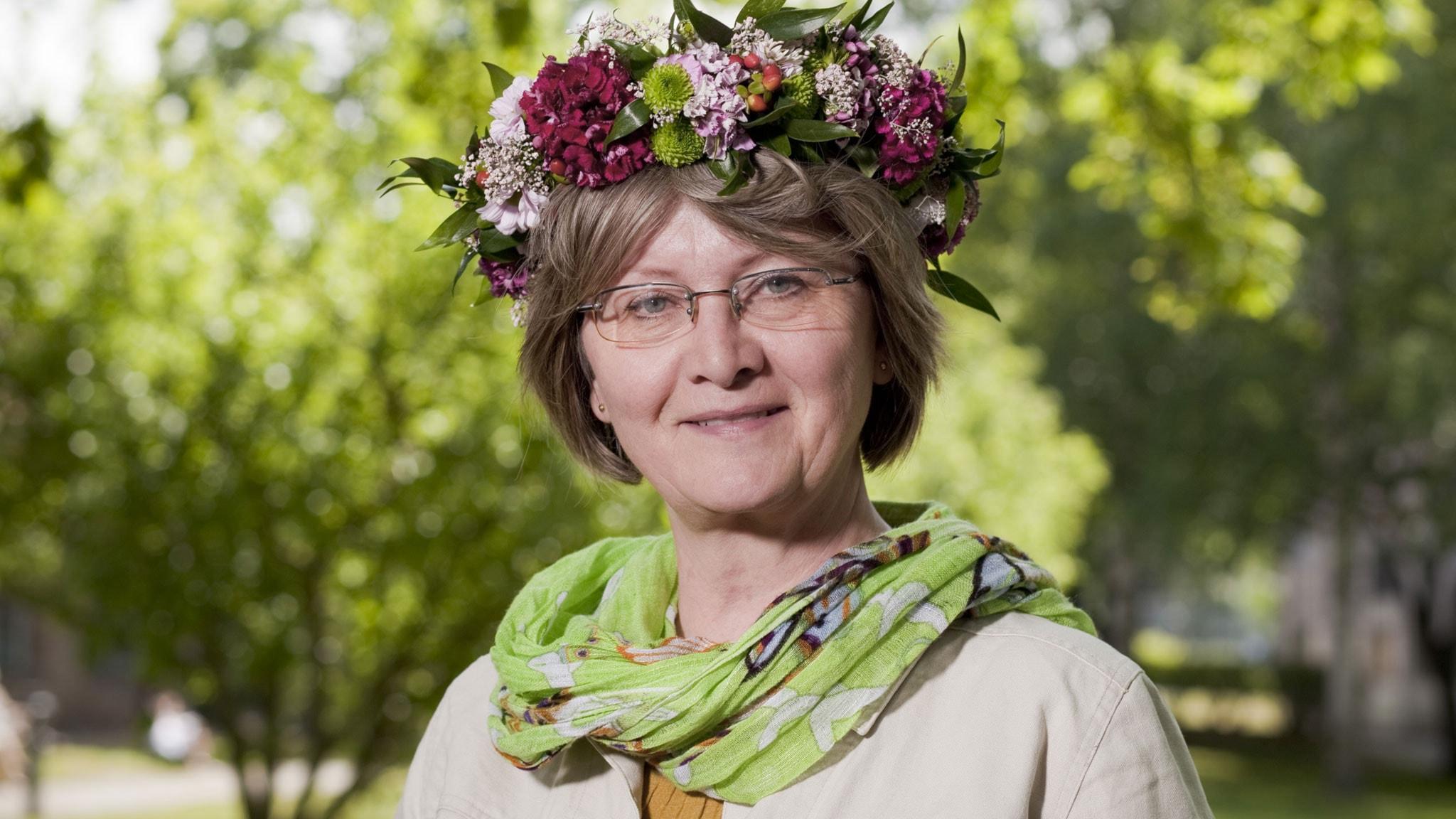 Eva Gabrielsson. Foto: Mattias Ahlm/Sveriges Radio.