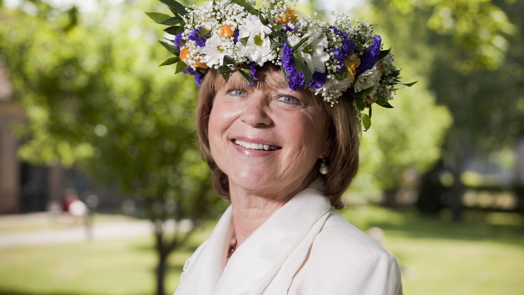 Karin Johannisson. Foto: Mattias Ahlm/Sveriges Radio.