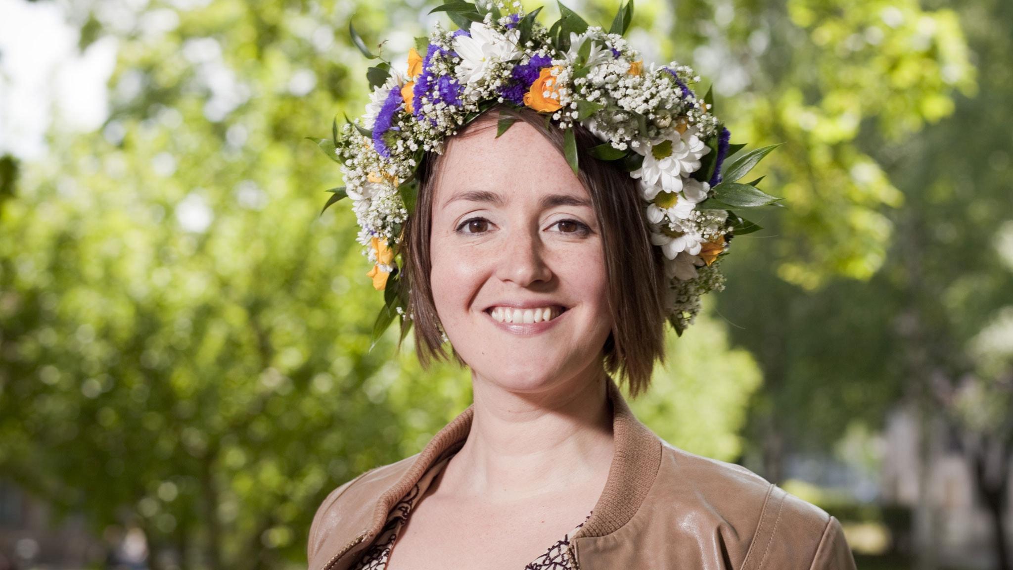 Johanna Koljonen. Foto: Mattias Ahlm/Sveriges Radio.