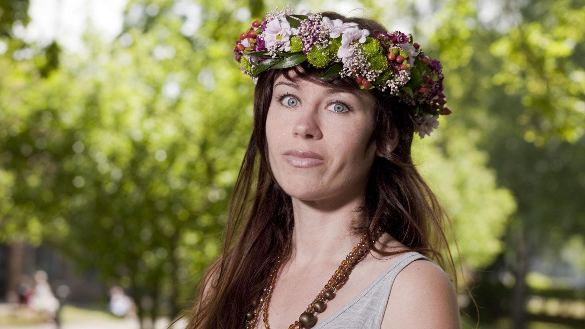 Anna Odell. Foto: Mattias Ahlm/Sveriges Radio