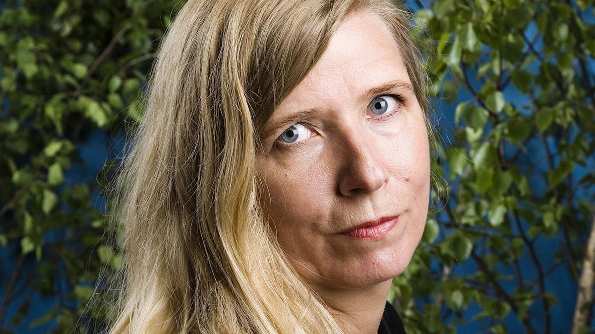 Karin Mamma Andersson. Foto: Mattias Ahlm/Sveriges Radio.