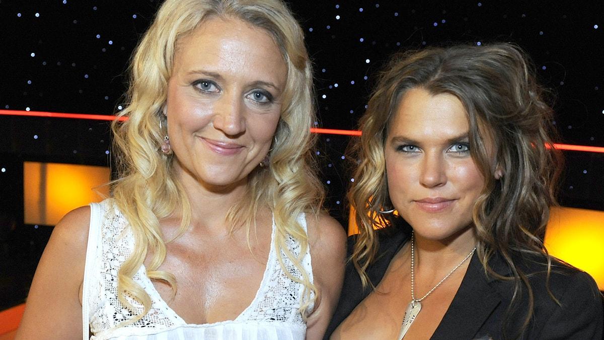Klara Zimmergren och Mia Skäringer