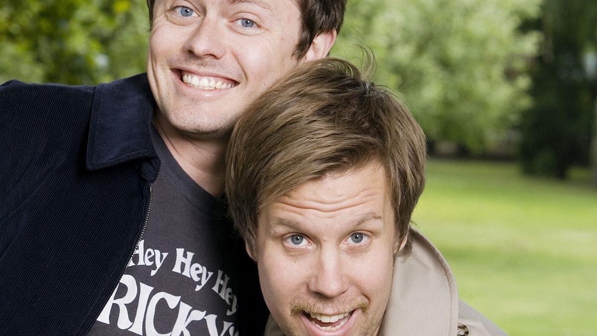Filip Hammar och Fredrik Wikingsson. Foto: SVT Bild